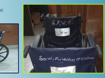 Wheelchairs Sponsored By SFWOC To The District Magistrate Of North 24 PGS