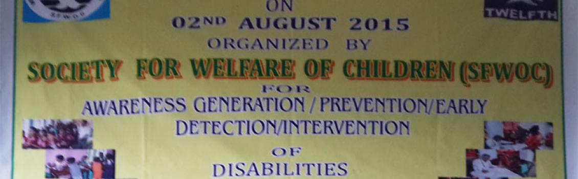 Awareness Medical Camp on Disability