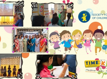 "Some glimpse from ""Role of Parenting in Child Development"" Seminar was happened at TIME Kids Newtown"