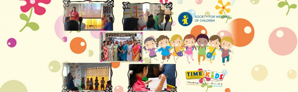 """Some glimpse from """"Role of Parenting in Child Development"""" Seminar was happened at TIME Kids Newtown"""
